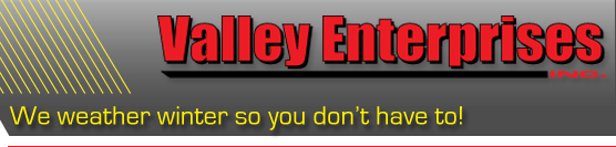 Valley Enterprises Snow Plow and Snow Removal